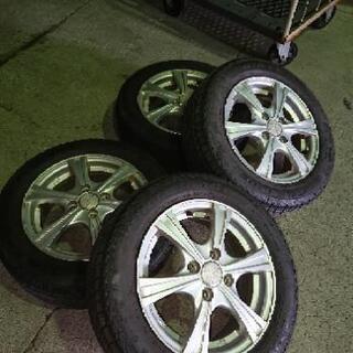 175-65-14  アルミ付き  スタッドレスタイヤ