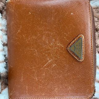 【ネット決済】格安 プラダ 二つ折り財布