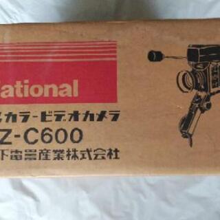 ナショナル カラービデオカメラ 新品 ジャンク品