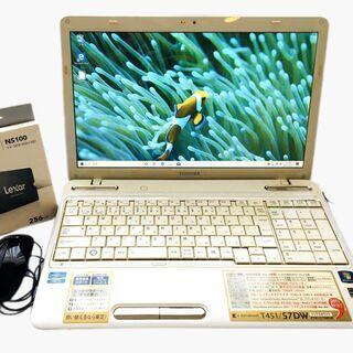 【ネット決済・配送可】Core i7+メモリ8GB+新品SSD2...