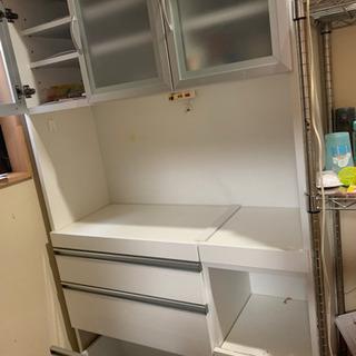 食器棚(白色)