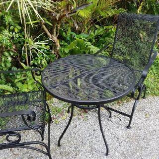 US. ガーデンテーブルチェアセット