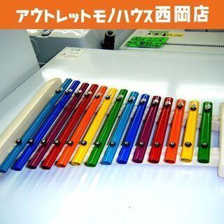 KAWAI/河合楽器 パイプシロホン 14S 14音階 子供用鍵...