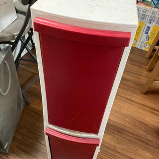 スリムダストボックス ゴミ箱 2段