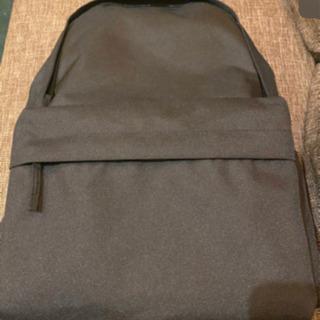 肩の負担を軽くする 撥水 リュックサック ブラック 新品未使用