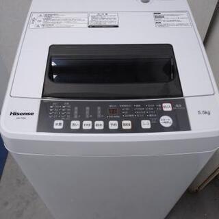 ☆激安☆美品☆5.5kg Hisense洗濯機☺️