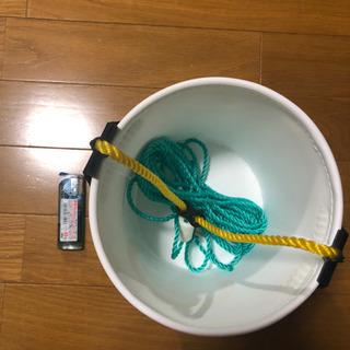 【ネット決済】水くみバケツ 釣り用