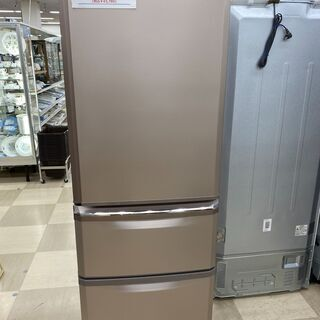 3ドア冷蔵庫 MITSUBISHI MR-C37A-P 370L...