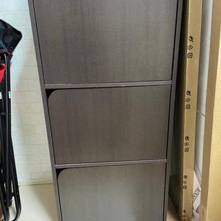 ニトリ 扉付きカラーボックス