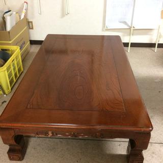 座卓、家具調こたつ、大きめ