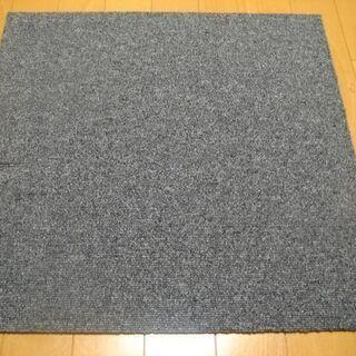 日本製タイルカーペット厚み6.5mm・1枚130円・在庫28枚(...
