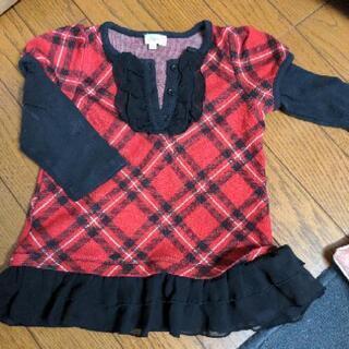 女の子 服 チュニック 90