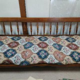 【ネット決済】木製のソファー
