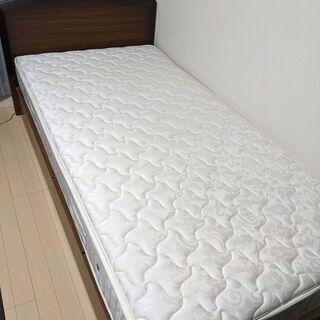 【ネット決済】シングルベッド(大塚家具 2010年購入)