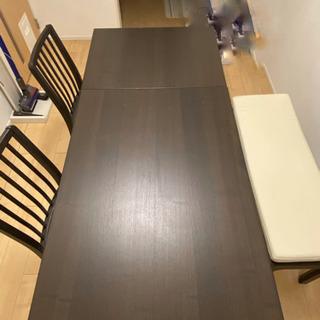 EKEDALEN エーケダーレン IKEA ダイニングテーブルセット