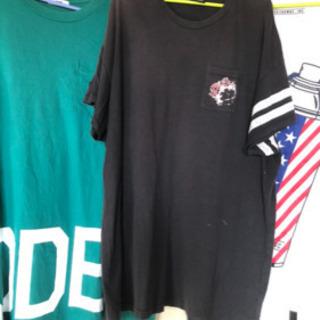 レディース 大きいサイズ Tシャツ ワンピース