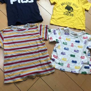 Tシャツ 95と100  FILA、トーマス、Lee、petit...