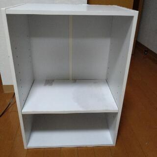カラーボックス ホワイト