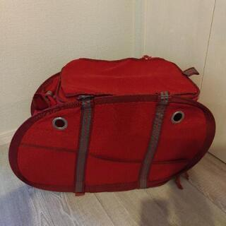 ペット用キャリーバッグ 赤