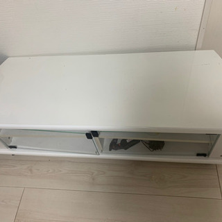 白色テレビ台