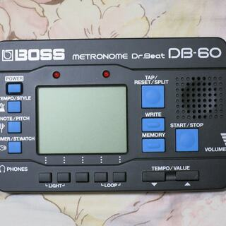 デジタル・メトロノーム BOSS Dr.Beat DB-60