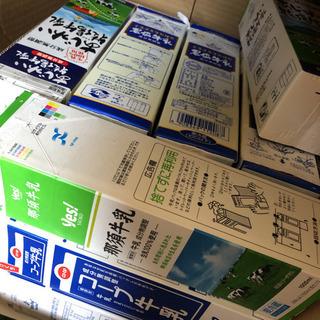 牛乳パック、ジュースパック30本