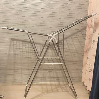 折りたたみ物干し台 横型