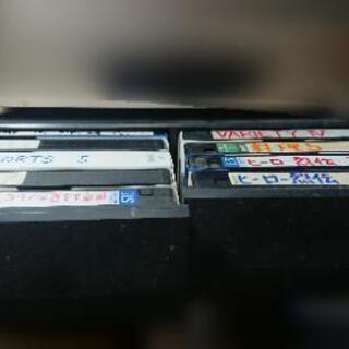 譲ってください!引き出し式 ビデオテープ収納ケース