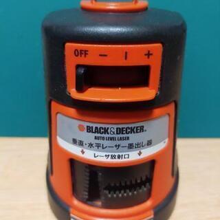 BLACK&DECKER レーザー墨出し器 DIYなどにオススメ!