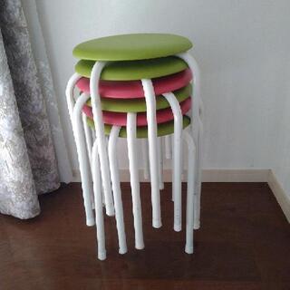 丸椅子 椅子 スタッキング 6脚