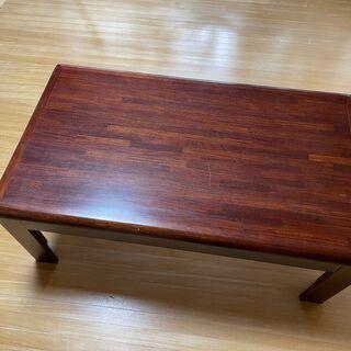 カリモクのハイテーブル