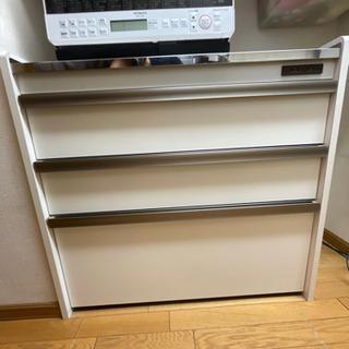 【お取引先決定】食器収納・レンジ台 90×45×83cm
