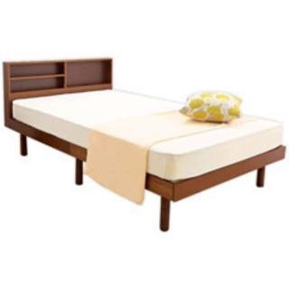 新品未使用シングルベッド