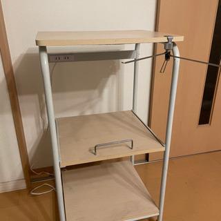 レンジ、炊飯器収納テーブル