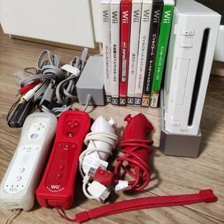 Wii本体+ソフト7品