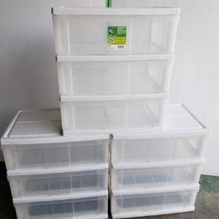 ☆アイリスオーヤマ 3段ワイド収納 在庫✕3☆