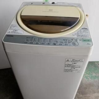 取引中☆東芝 全自動洗濯機6kg 2017年製 ☆