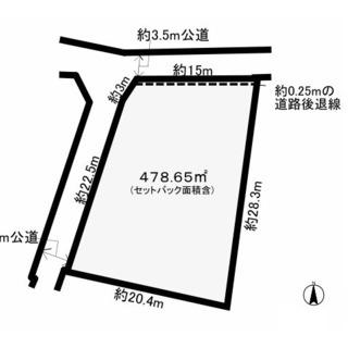 熊谷市善ケ島 宅地 家屋付き 価格応交渉