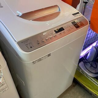 ⭐︎中古激安! SHARP  シャープ 乾燥機付き洗濯機 5.5...