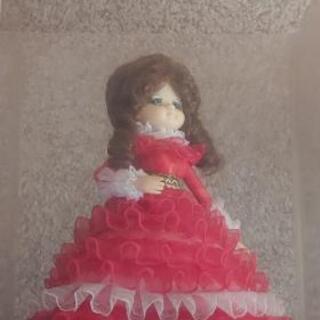 アンティークドール 西洋人形 ケース 未清掃 40年以上前 ロリータ