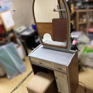 アンティーク ドレッサー椅子付き