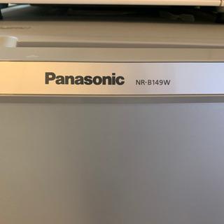 【ネット決済】【冷蔵庫】パナソニック2017年製 NR-B149...