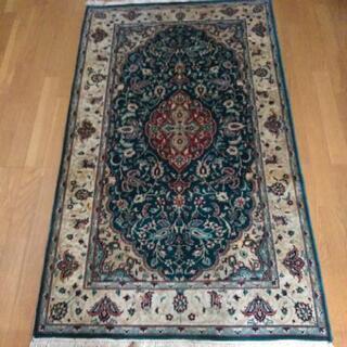 【ネット決済】パキスタン 絨毯 カーペット ウール100% 手織り