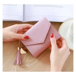 【ネット決済・配送可】ミニ財布 ミニウォレット ピンク 新品