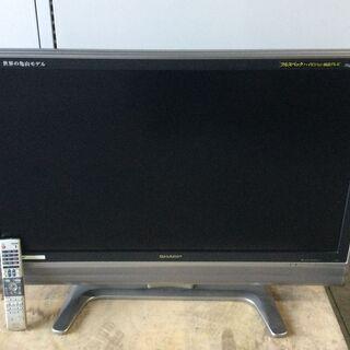 シャープ 37型液晶テレビ LC-37EX5 2008年製 動作...
