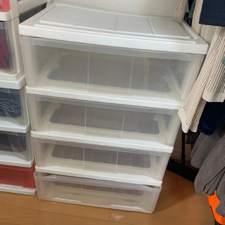 カラーボックス 4段×2  引き取り日【5/15まで】
