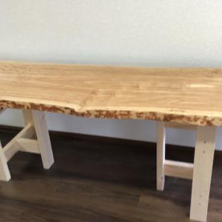 樺(かば)のテーブル用1枚板