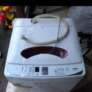 ASW-70A(W) サンヨー 洗濯機 7キロ 引き取り限定