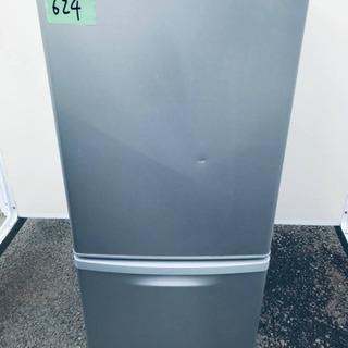 ②624番 Panasonic ✨ノンフロン冷凍冷蔵庫✨NR-B...