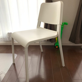 即日引き取り希望! IKEAダイニングチェア 白